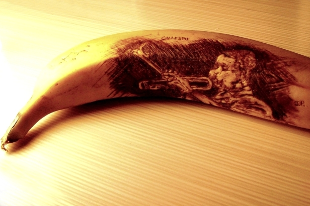 Banana Artist. I Bow Deeply To Your Genius. Thank You.