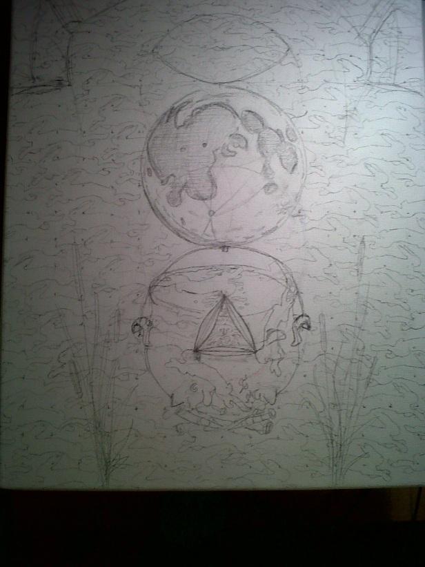 Triptych, Panel II, Jade