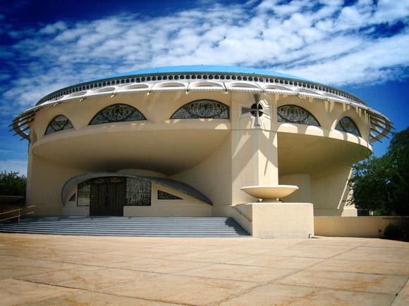 Greek Orthodox Church Designed by Frank Lloyd Wright