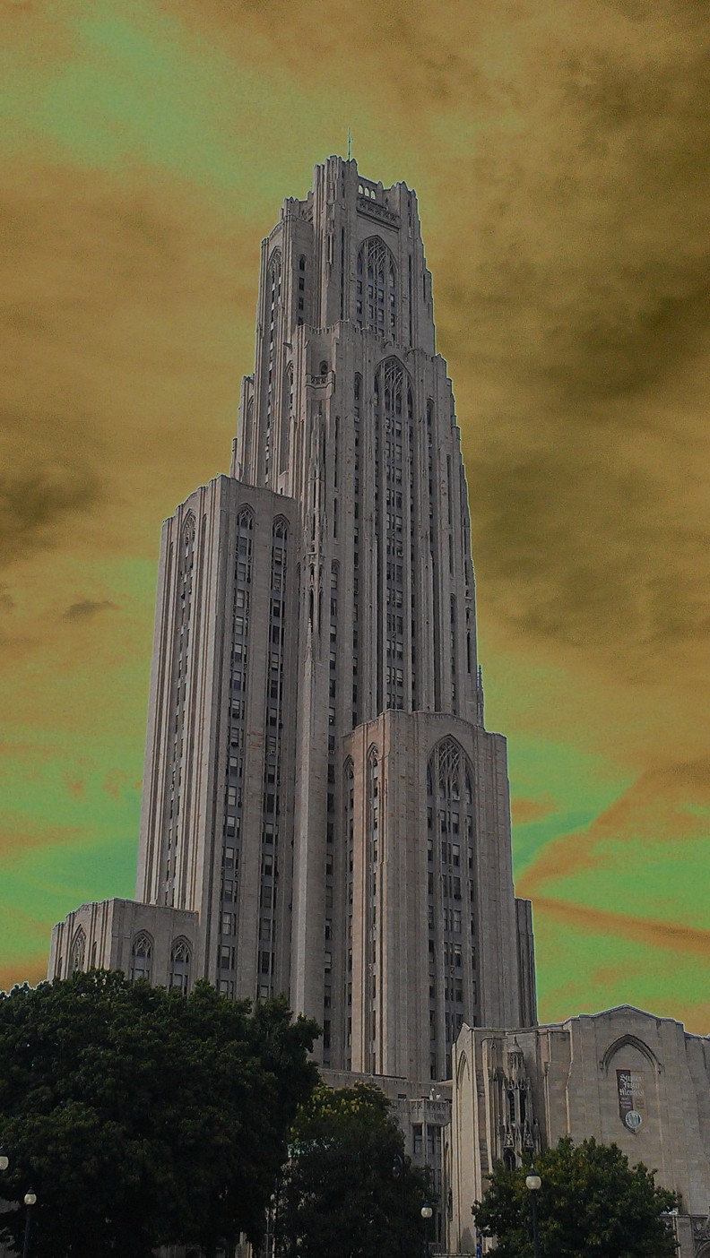 Cathedral of Learning in Pittsburgh, Pa