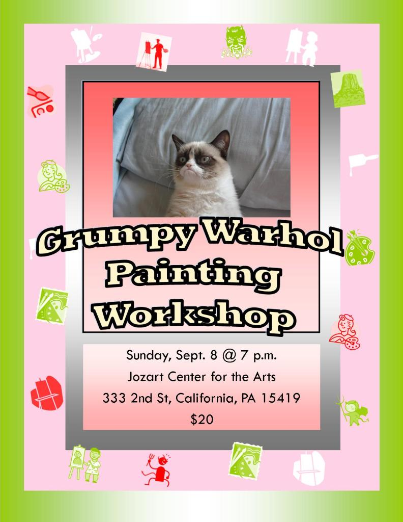 Painting Workshop - Hey Pennsylvania, Let's Get Artsy