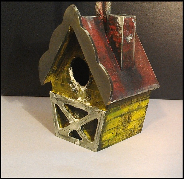 dirty birdhouse front 1