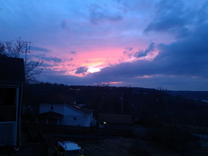 Jan 15 2014 sunset