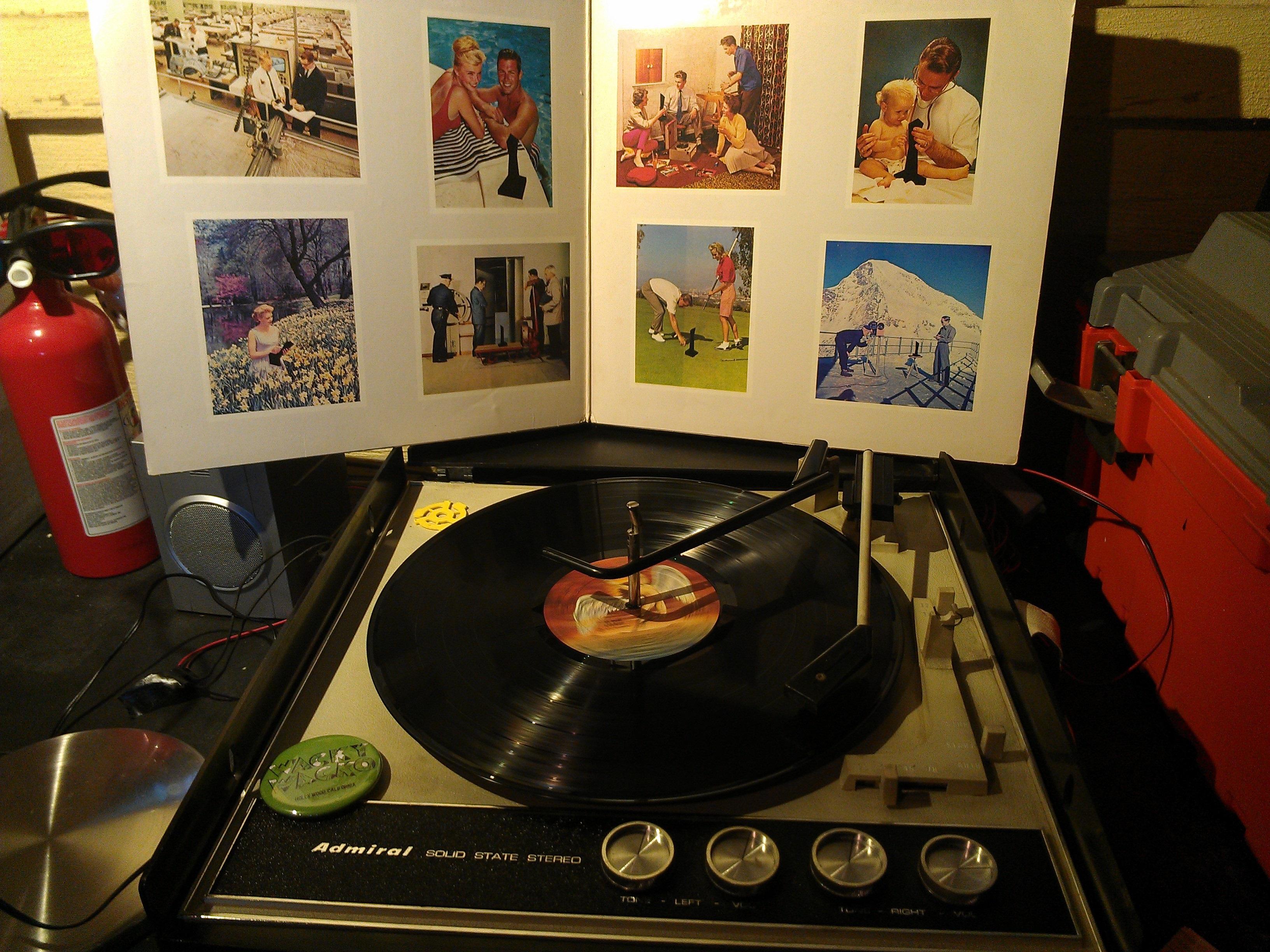 I Still Rock the Vinyl in 2014 - Led Zeppelin - Presence