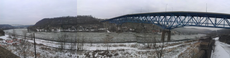 Polar Vortex on the Monongahela