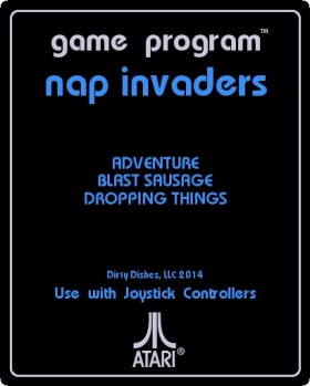 nap invaders label