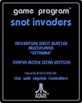 snot invaders label