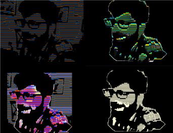 four face